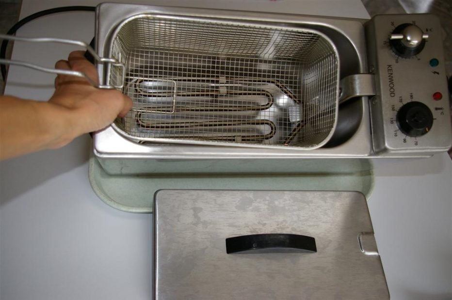 Nettoyage friteuse electrique